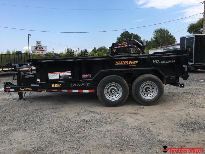 2020 Doolittle Trailer Mfg Masterdump 8200 Series 82 x 12 Tandem Axle 14K Dump Trailer