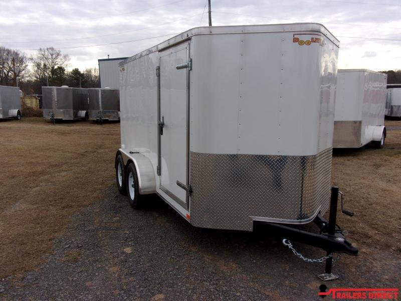 2020 Doolittle Trailer Mfg Bullitt 7' Wide Tandem Axle 7K Enclosed Cargo Trailer