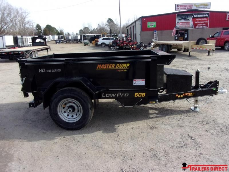 2020 Doolittle Trailer Mfg Masterdump 6000 Series 5 x 8 Single Axle 7K Dump Trailer