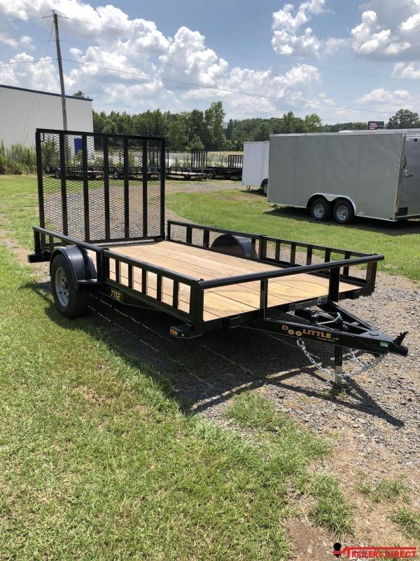 2018 Doolittle Trailer Mfg Utility 77x12 Utility Trailer Side Load ATV Trailer