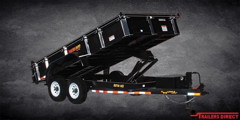 2020 Doolittle Trailer Mfg Gooseneck Masterdump 8200 Series 82 x 16 Tandem Axle 14K Dump Trailer