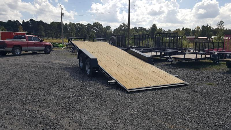 RED TAG CLEARANCE 2019 Doolittle Trailer Mfg EZ Loader 84x20 7k Equipment Trailer