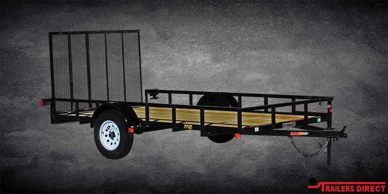 2020 Doolittle Trailer Mfg Rally Sport 600 Series 2K Single Axle Utility Trailer