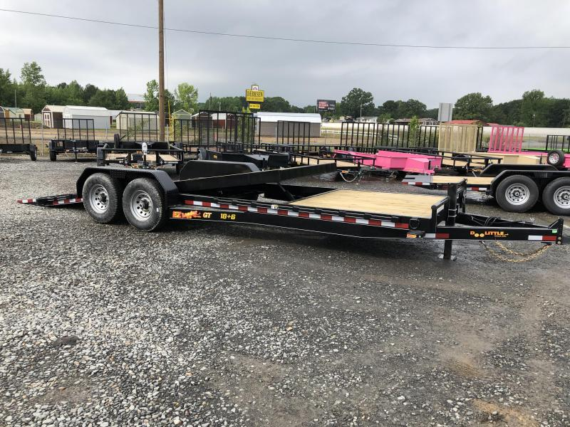 2019 Doolittle Trailer Mfg 82x24 (186) GT EZ Loader Equipment Trailer