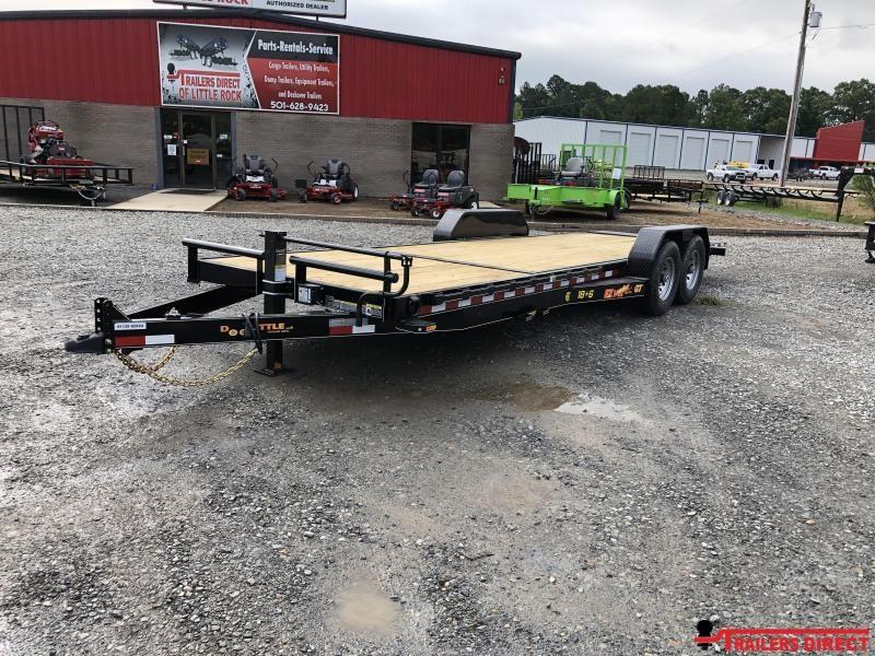 2019 Doolittle Trailer Mfg 82x24 (186) GT EZ Loader Equipment Trailer