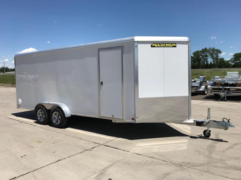 2019 Aluma AE718TAR Cargo / Enclosed Trailer