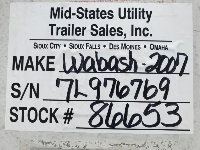 2007 Wabash National Van Dry Van