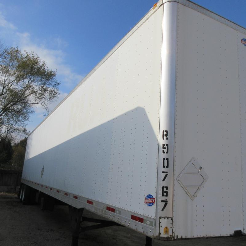 2009 Utility Trailer Manufacturing Company Van Dry Van