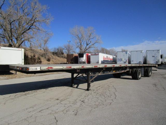 2007 Utility Trailer Manufacturing Company Flatbed Flat Bed