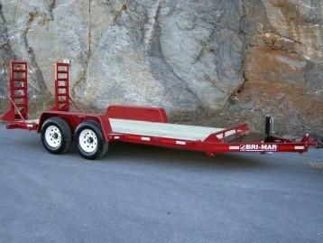 2020 Bri-Mar EH18-12 Equipment Trailer