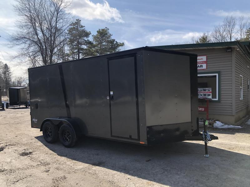 2021 Pace American OB7X16TE2 DLX Enclosed Cargo Trailer