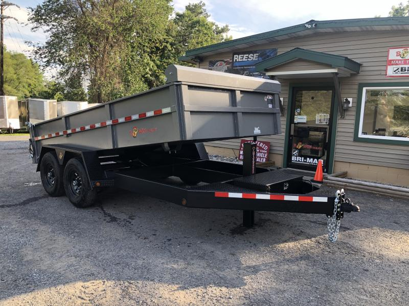 2020 B-Wise DLP14-15 Dump Trailer