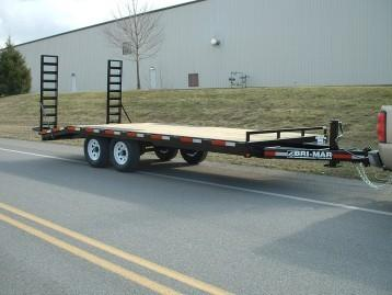 2020 Bri-Mar EH820-14 Equipment Trailer