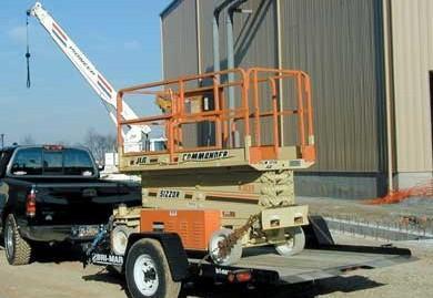 2020 Bri-Mar T512-6 Equipment Trailer