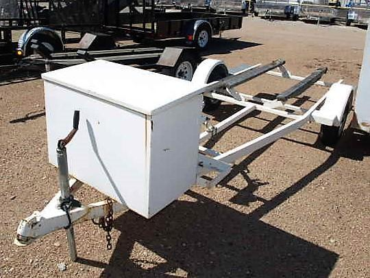 Used Single Axle Boat Trailer