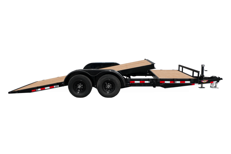 2020 H and H Trailer H8220EX-100 Flatbed Trailer