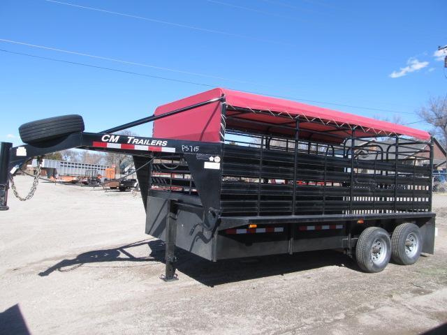 2015 CM stock trailer Livestock Trailer
