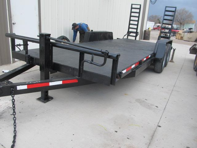 "1992 Inman 83"" x 20' Steel Deck Trailer"