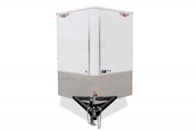 2020 H and H Trailer H7212RRTV Enclosed Cargo Trailer
