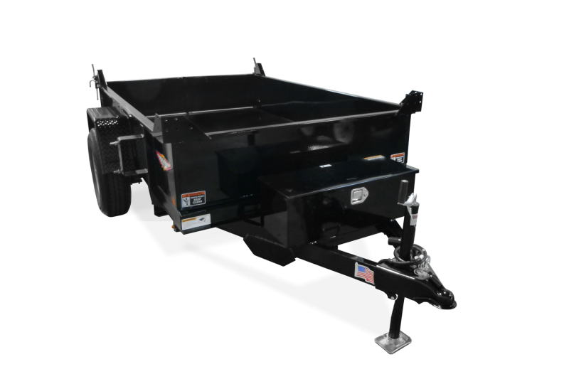 2020 H and H Trailer H7612UD-24-100 Dump Trailer