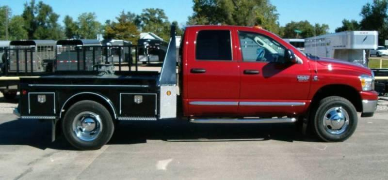 2019 J and I Ranch Hand 4-Box Steel Flatbed
