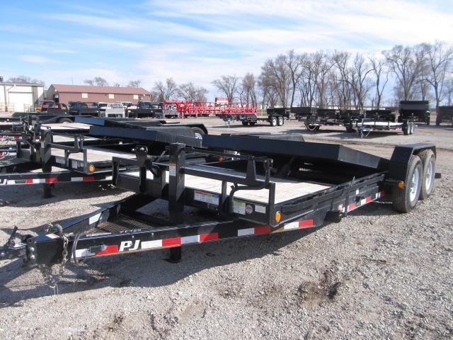 2019 PJ Trailers tilt flatbed Equipment Trailer