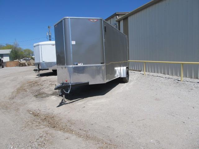 2019 H and H 6 x 14 Enclosed Cargo Trailer
