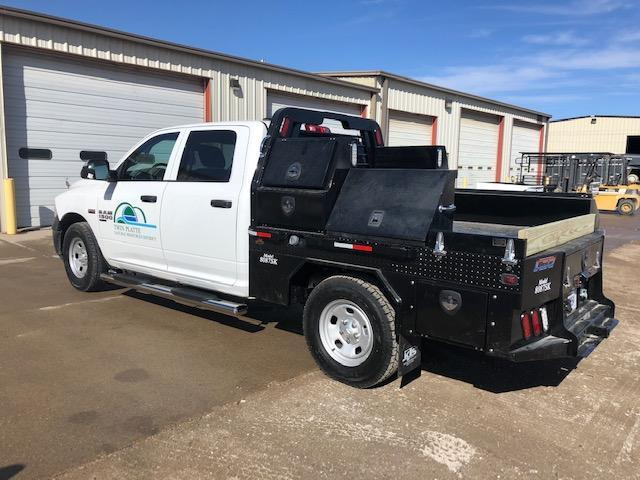 2019 Besler Industries 8 Box Skirted Steel Flatbed