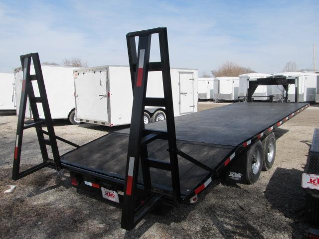 Used 1989 Superior 8 x 24 Gooseneck Flatbed