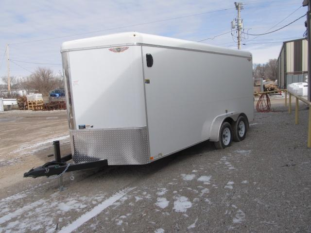 2020 H and H Trailer H7212TRTV-070 Enclosed Cargo Trailer