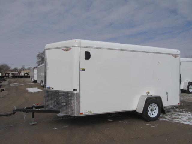 2020 H and H Trailer H72125RTV-035 Enclosed Cargo Trailer