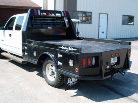2019 Bradford Built 4-Box Steel Flatbed
