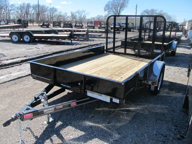 "2020 PJ Trailers 77"" x 10 Channel Utility Trailer"