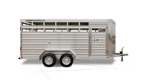 2020 Featherlite 8107 Livestock Trailer