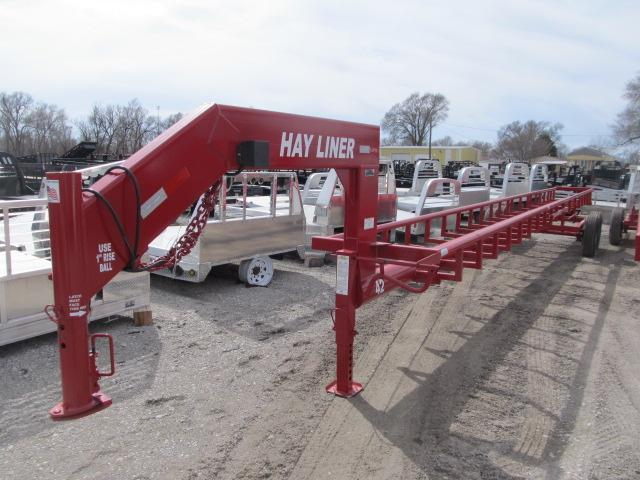 2019 Hayliner 42 ft Gooseneck 8 Bale Trailer