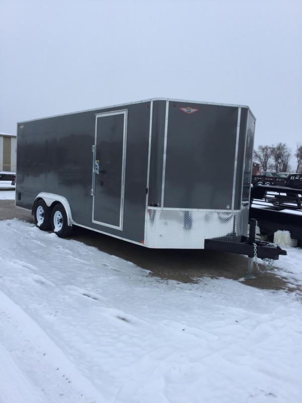 2020 H & H Trailers H9618TFTV-100 Enclosed Cargo Trailer