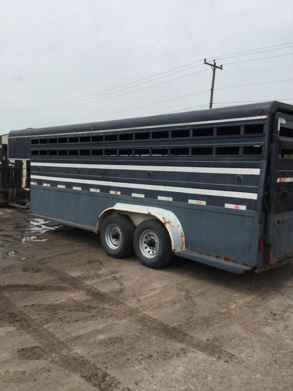 1996 Other stock trailer Livestock Trailer