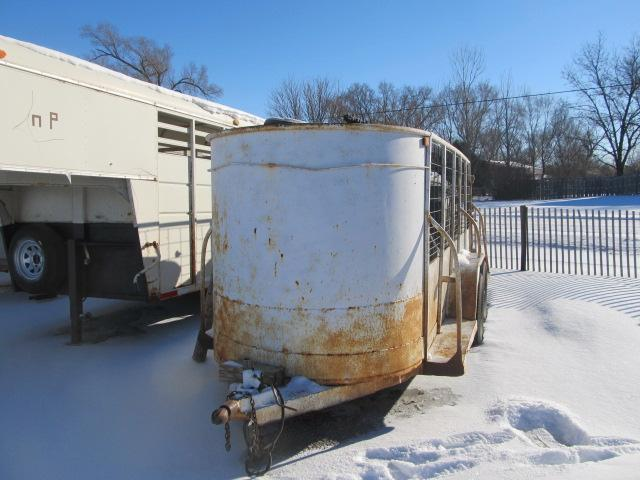 Used 5 x 16 Open Top BP Stock Trailer