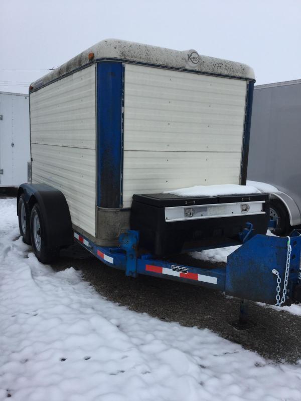 1992 Kiefer Manufacturing Cargo trailer Enclosed Cargo Trailer