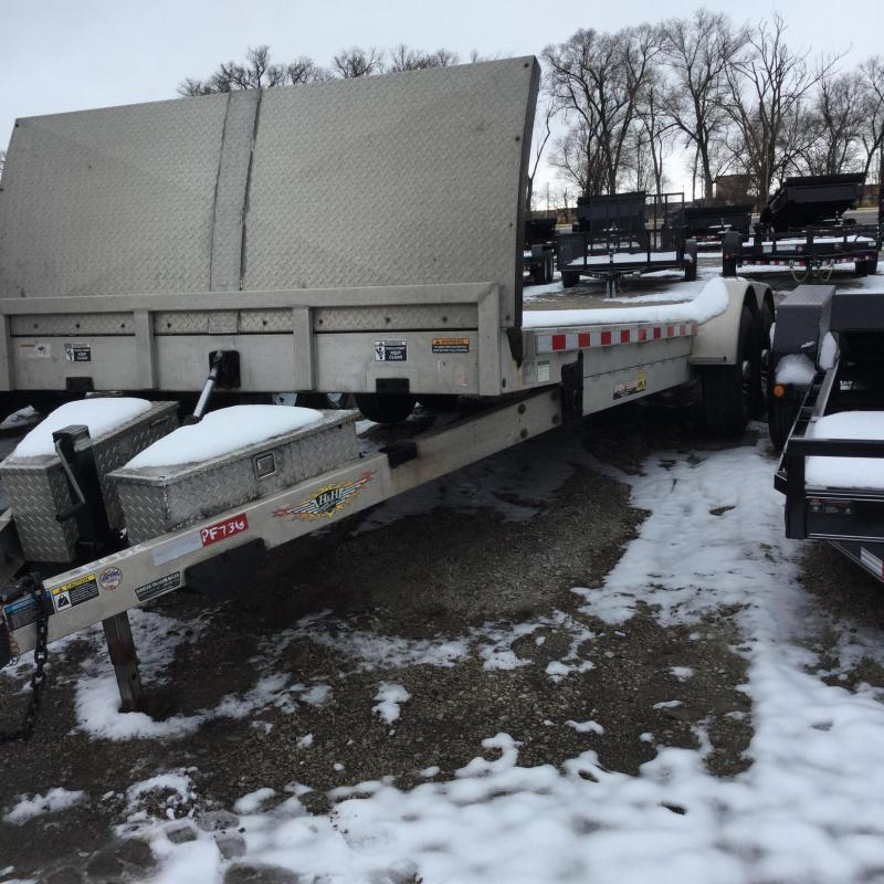2014 H & H Trailers Speedloader Flatbed Trailer