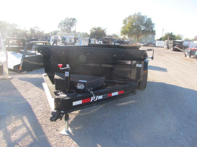 "2019 PJ Trailers 83"" x 12 Low Pro Dump Trailer w/ Tarp"