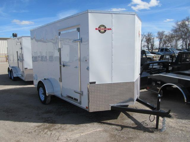 2019 Carry-On 6 x 12 Enclosed Cargo Trailer