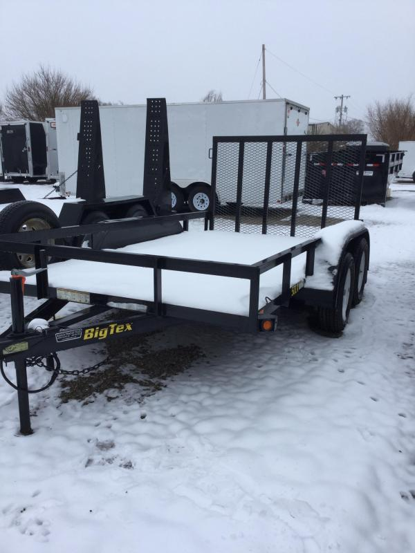 2014 Big Tex Trailers Flat bed trailer Flatbed Trailer