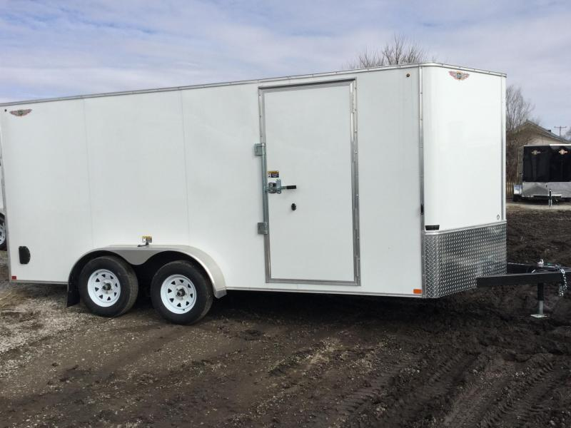 2020 H and H Trailer 48416TFTV-070 Enclosed Cargo Trailer