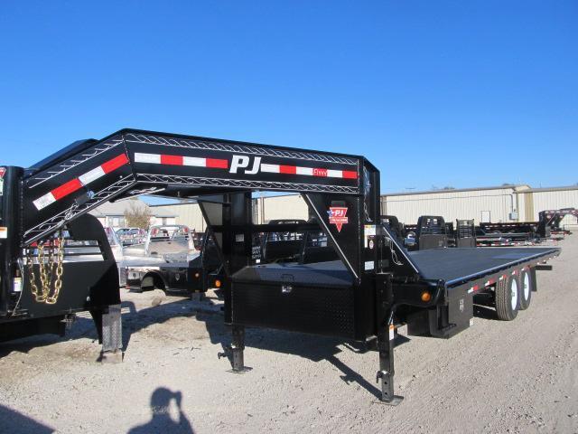 2019 PJ 8.5 x 24 Gooseneck Tilt Flatbed