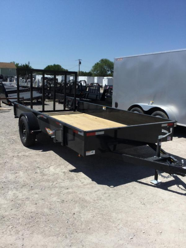 2020 H and H Trailer H7612SS-030 Utility Trailer