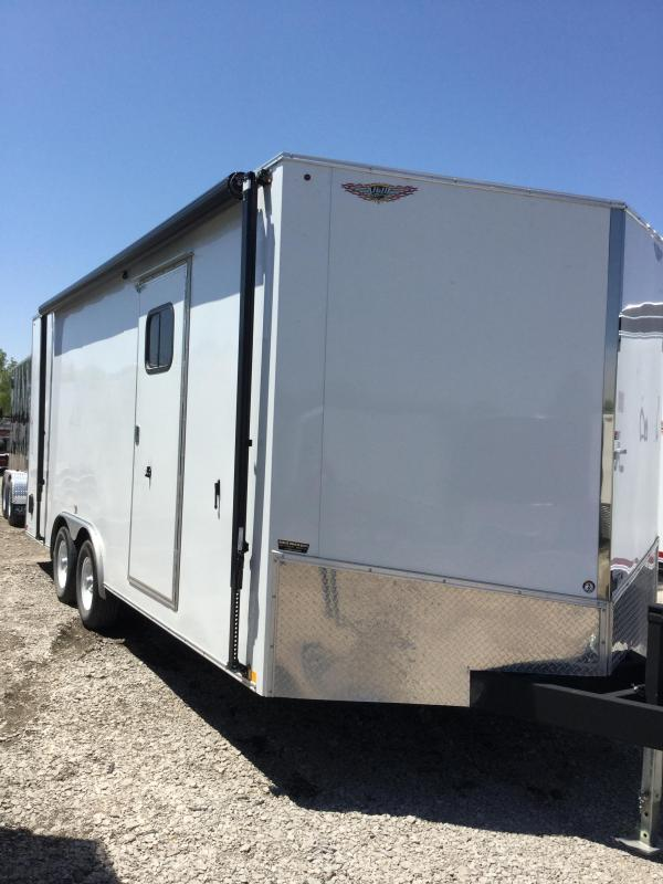 2018 H and H Trailer cargo car hauler Enclosed Cargo Trailer
