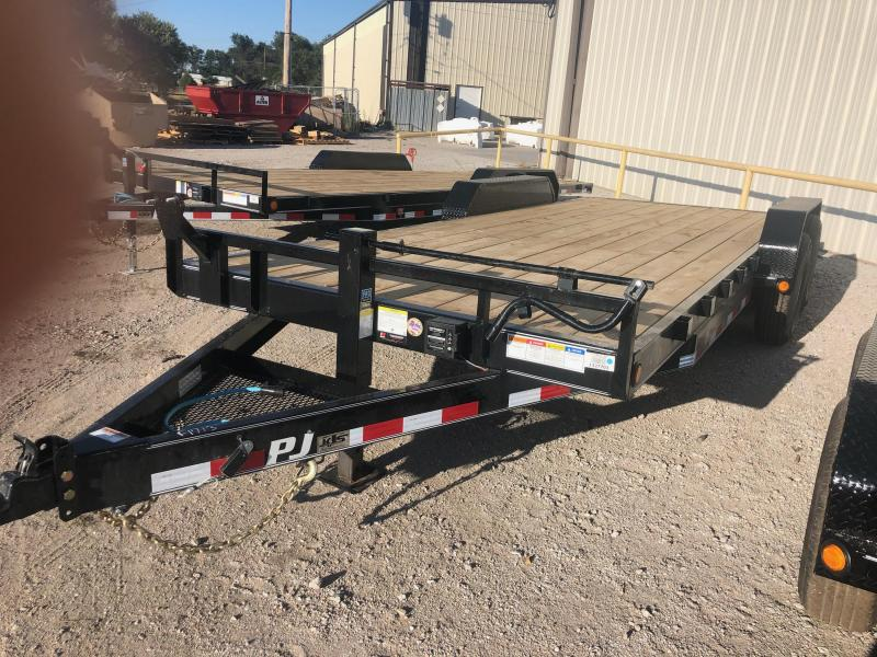 2020 PJ Trailers CE202 Flatbed Trailer