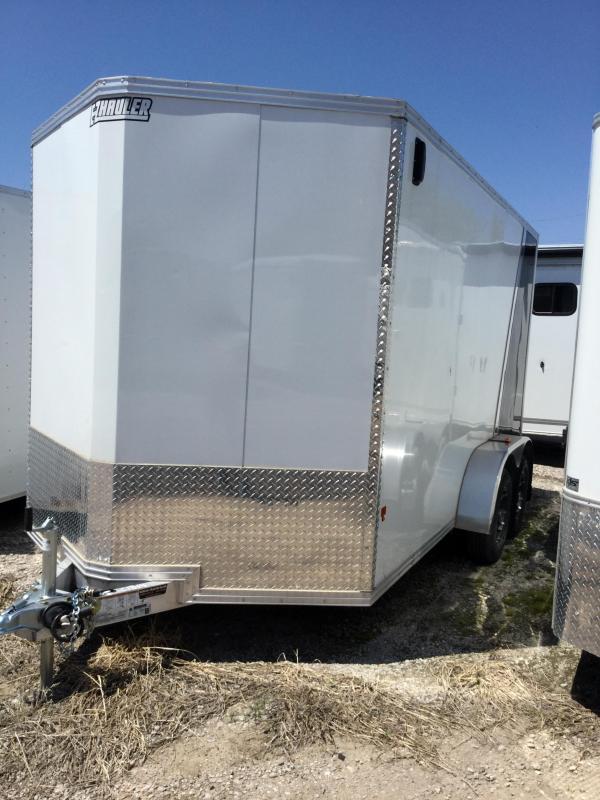 2018 Mission aluminum cargo Enclosed Cargo Trailer