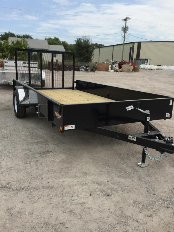 2020 H and H Trailer H6612ss-030 Utility Trailer